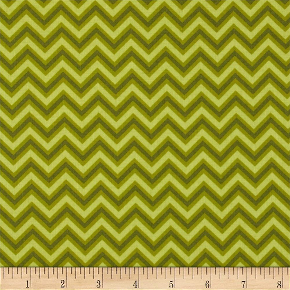 Anything Goes Basics Chevron Green