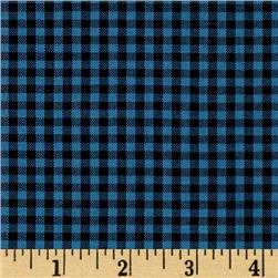 "Kaufman 1/8"" Carolina Gingham Indigo"