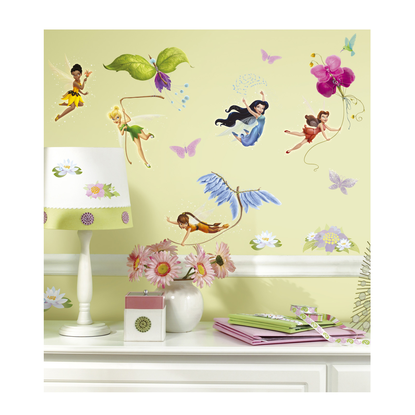 Image of Disney Fairies Wall Decals