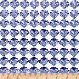Moda Tide Pool Scallop Shells White