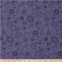 110 In. Wide Quilt Back Signature Navy Fabric