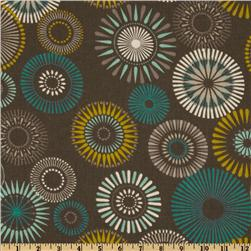 Covington Starburst Pinwheel Grey