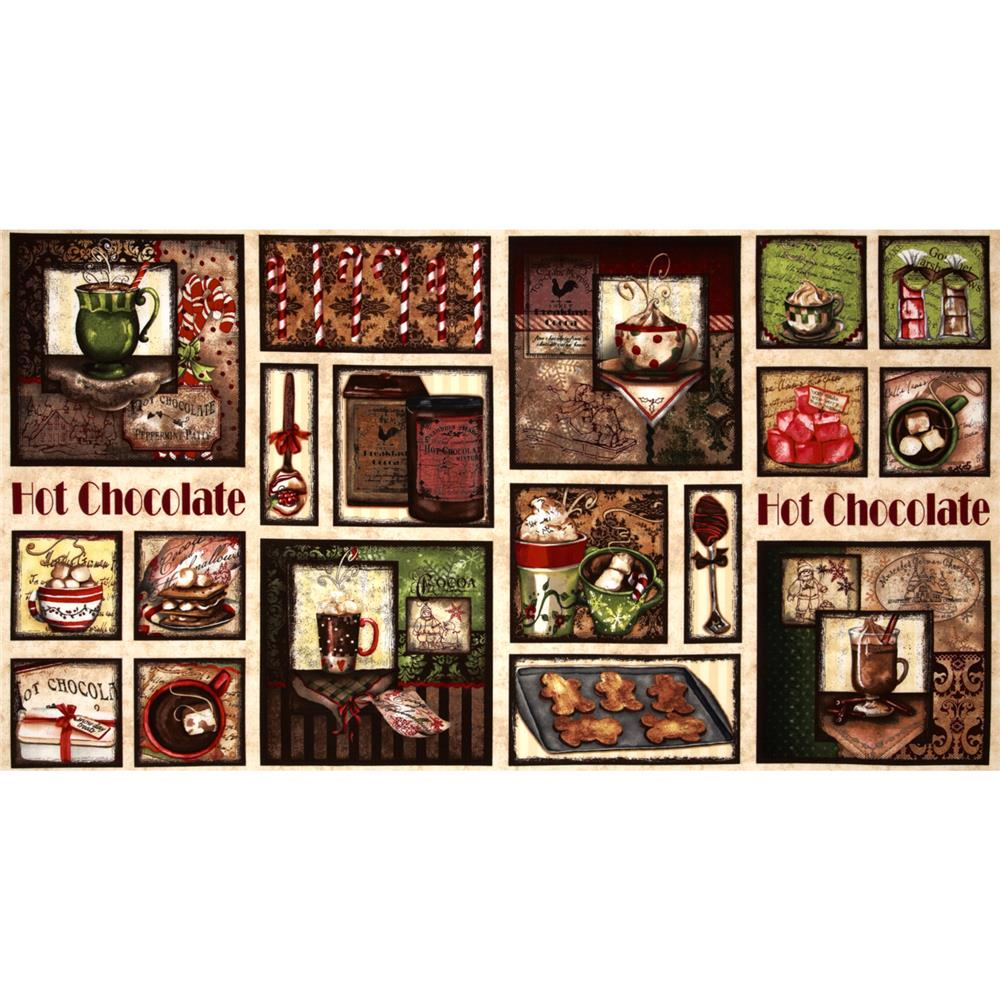 Hot Chocolate Sampler Panel Multi