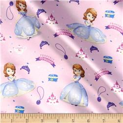 Disney Satin Sofia The First Sofia Properly Princess Pink