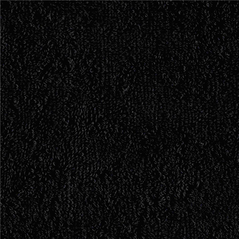 Shannon Terry Cloth Cuddle Black Fabric