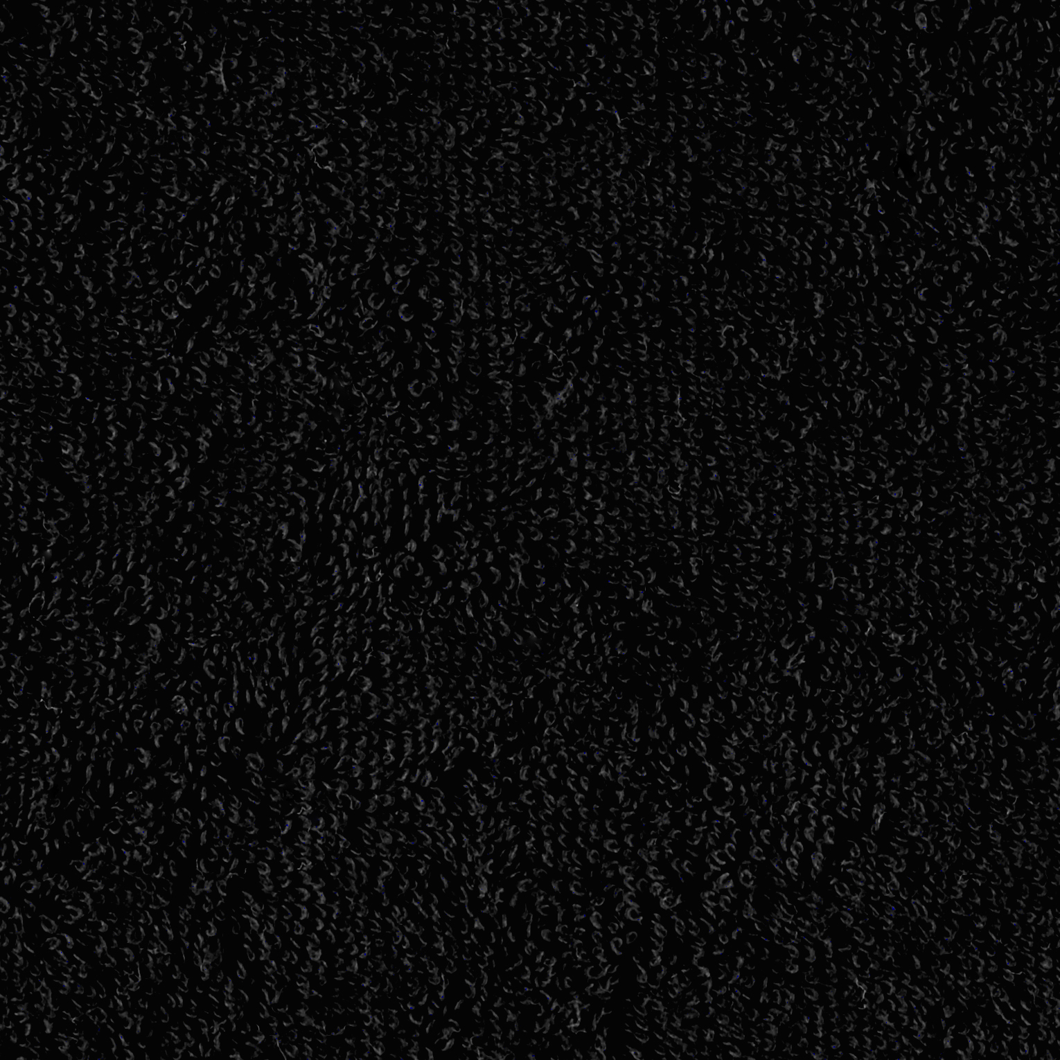 Terry Cloth Cuddle Black Fabric by Shannon in USA
