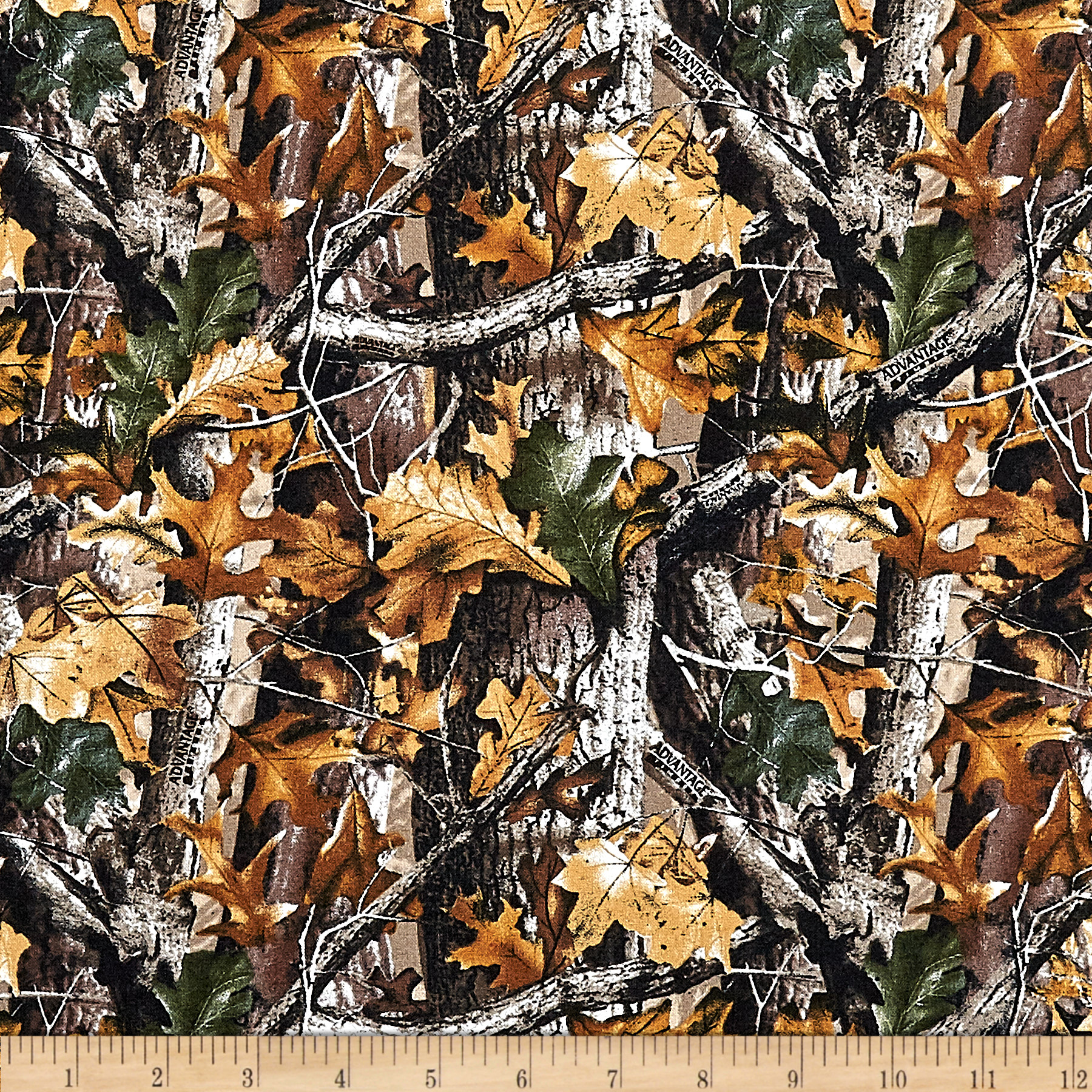 Realtree Oak Camo Allover Multi Fabric
