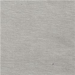 Rayon Spandex Jersey Knit Lightest Grey