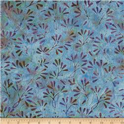 Batavian Batiks Pressed Flowers Rainbow