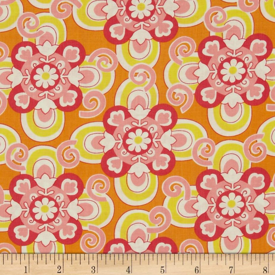 Savvy Swirls Savvy Collage Pink