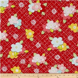 Sugar & Spice Medium Floral Red