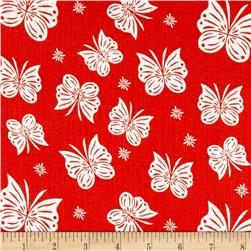 Riley Blake Double Gauze Flutter Coral