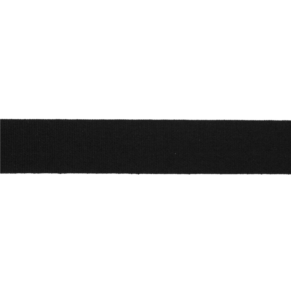 "5/8"" Faux Canvas Ribbon Black"