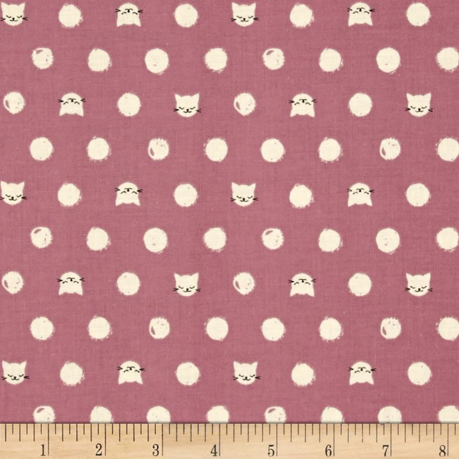 Cotton + Steel Cat Lady Friskers Lavender