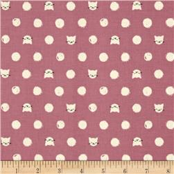 Cotton & Steel Cat Lady Friskers Lavender