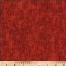 Timeless Treasures Studio Brushed Linen Texture Poppy