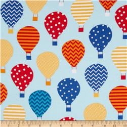 Urban Flotologie Flannel Hot Air Balloons Rainbow
