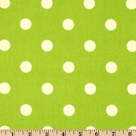 Premier Prints Polka Dot Lime