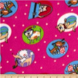 Fleece Dogs & Cats Hot Pink