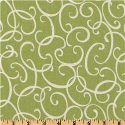 Waverly Loops N Twirls Honeydew Fabric