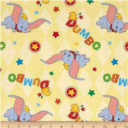 Disney Dumbo Flying Toss Yellow