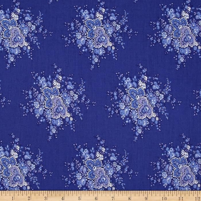 April cornell music collection anglaise periwinkle for Decoration anglaise