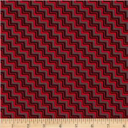 Graphix 3 Chevron Red/Grey