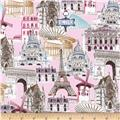 Kaufman Dream Vacation Paris Collage Sweet