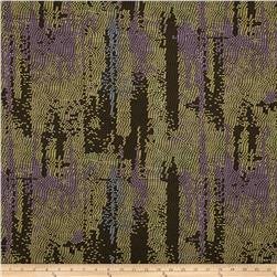 Metropolis City Lights Plum/Gold Fabric