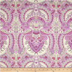 Amy Butler Alchemy Sateen Bliss Flora Berry