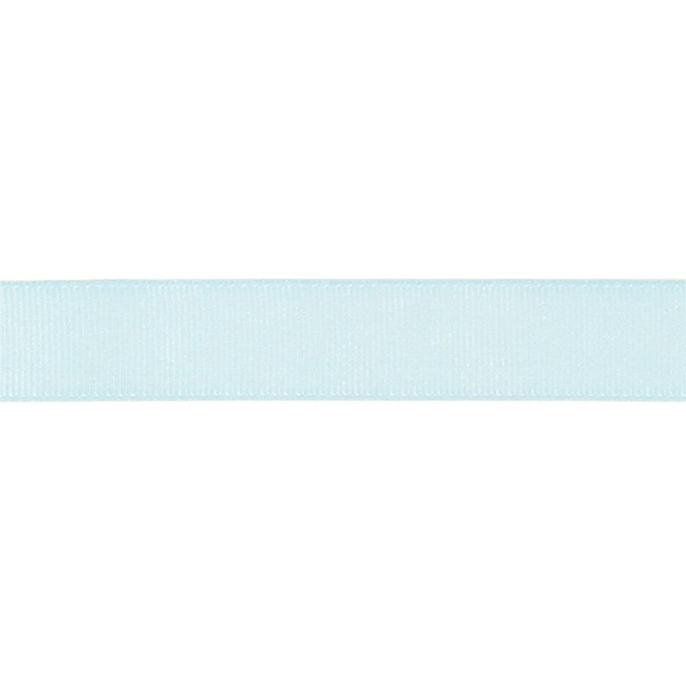 "May Arts 3/4"" Grosgrain Ribbon Spool Light Blue"