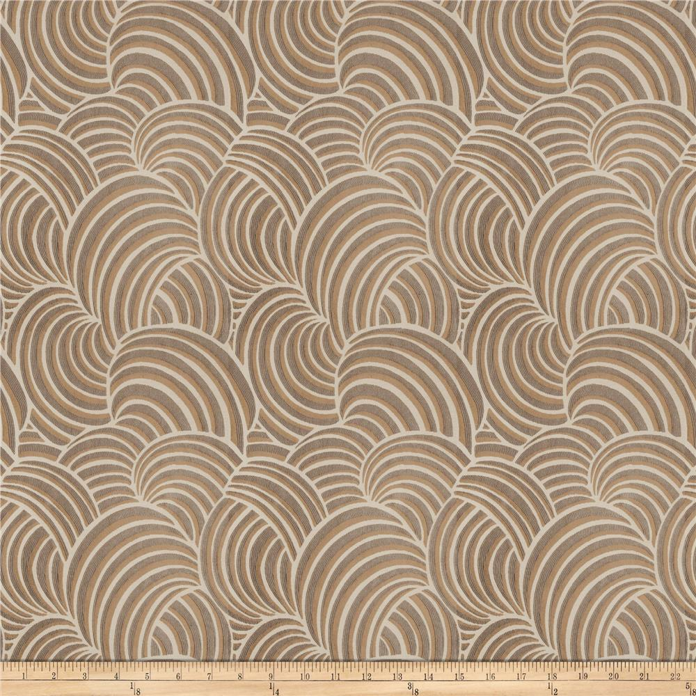 Fabricut Marlin Jacquard Warm Grey