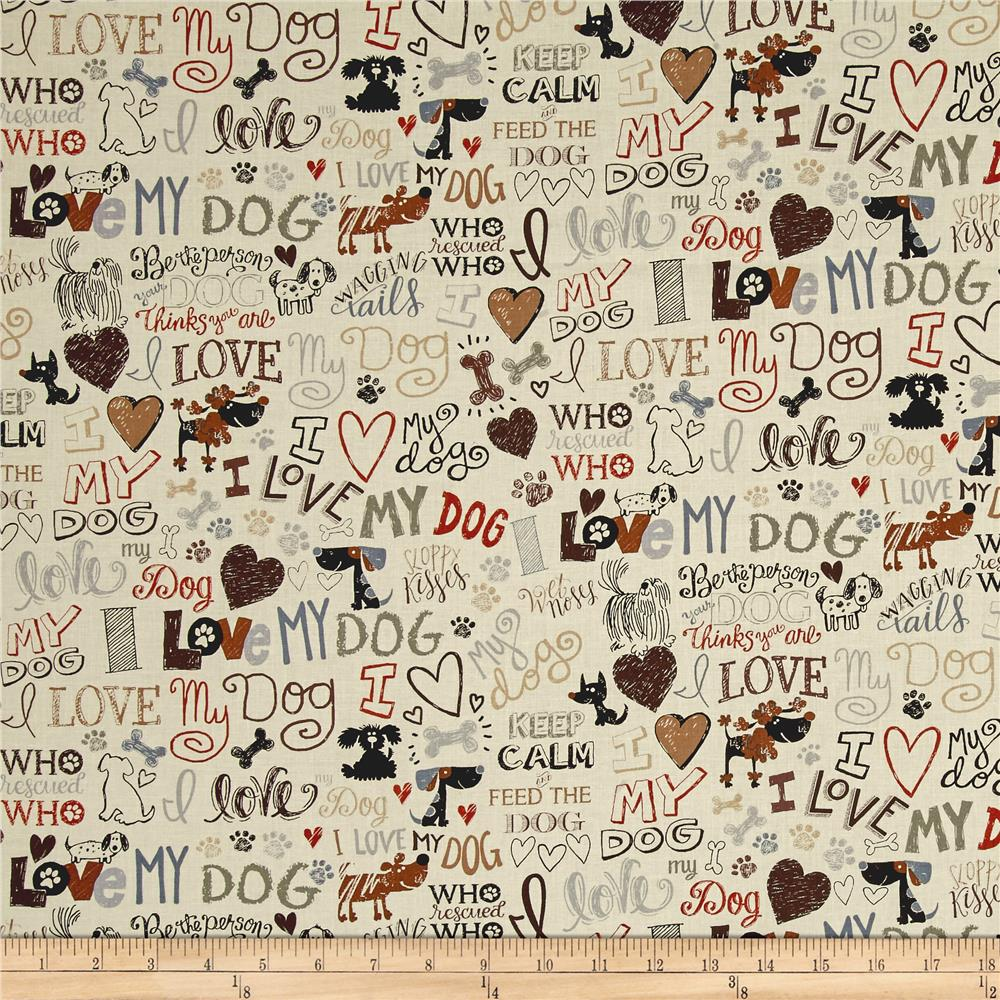 Animals Dogs Discount Designer Fabric Fabric Com