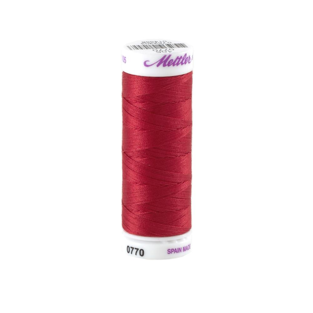 Mettler Cotton All Purpose Thread 3-ply 50wt 164YDS Dragon's Blut