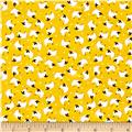 Barnyard Quilts Sheep Yellow