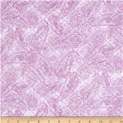 Timeless Treasures Romance Tonal Paisley Pink Fabric