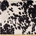 Udder Madness Cow Upholstery Black