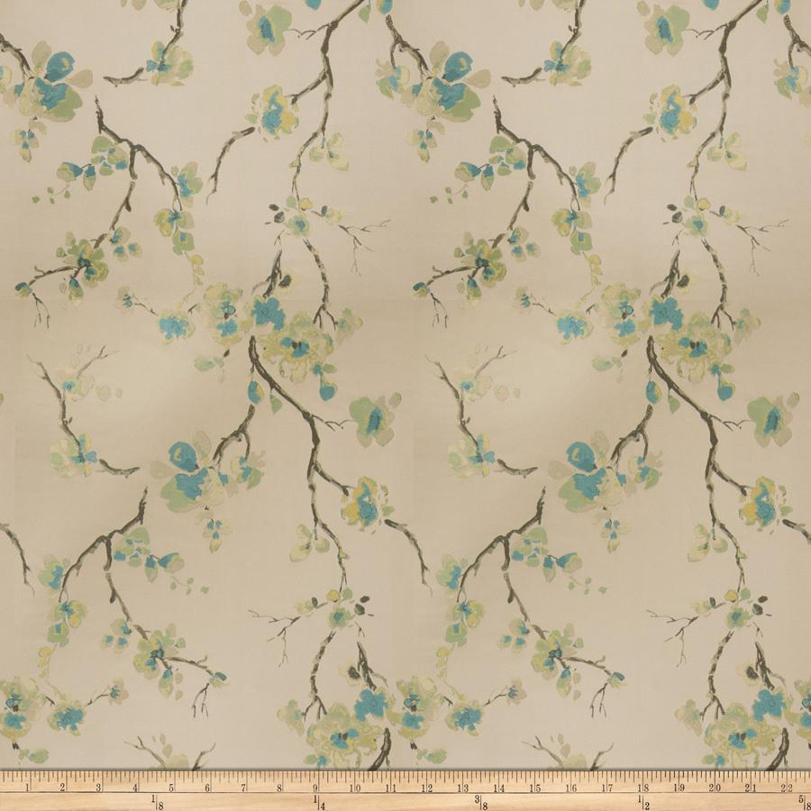 Fabricut  Shiner Orchid Teal