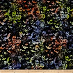 Timeless Treasures Tonga Batik Haunted Halloween Boo