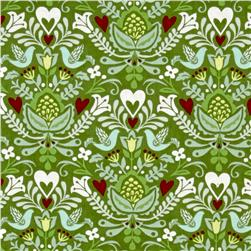 Moda North Woods Rosemaling Pine