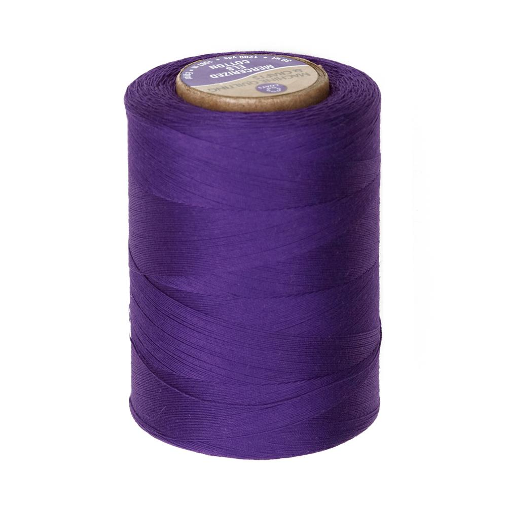 Cotton Machine Quilting Thread 1200 YD Purple