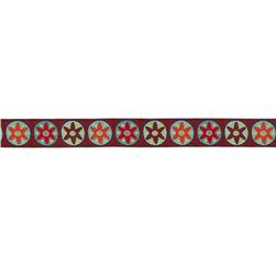 "7/8"" Sue Spargo Ornaments Ribbon Burgundy"