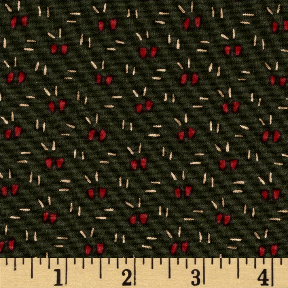 Moda Winter's Song Confetti Pine