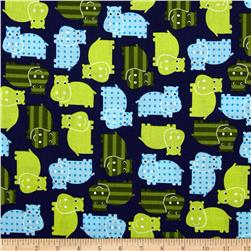 Urban Zoologie Hippos Royal Fabric