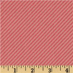 Curiosities Diagonal Stripe Pink