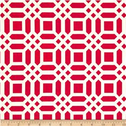 Riley Blake Home Decor Vivid Lattice Fuchsia