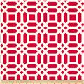 Riley Blake Home Decor Vivid Lattice Fuschia