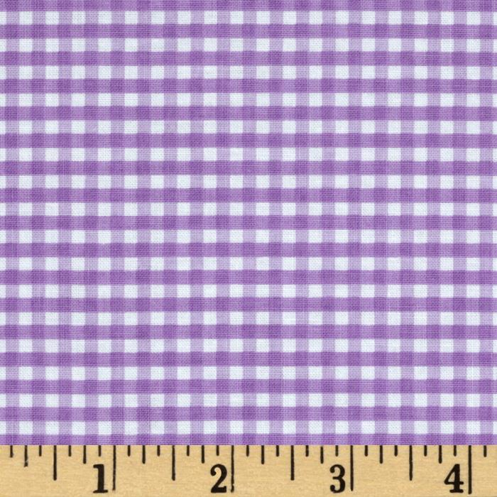 Riley Blake Small Gingham Lavender