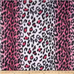 Fleece Cheetah Print Hot Pink/Black