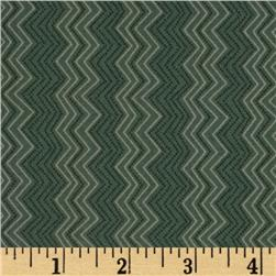 Silk Road Cassandra Zig Zag Medium Blue Fabric